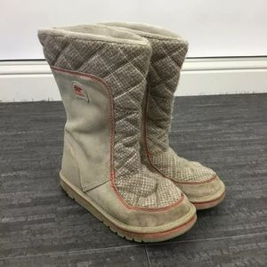 Sorel Campus quilted boots